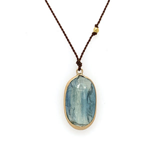 14k Kyanite Necklace