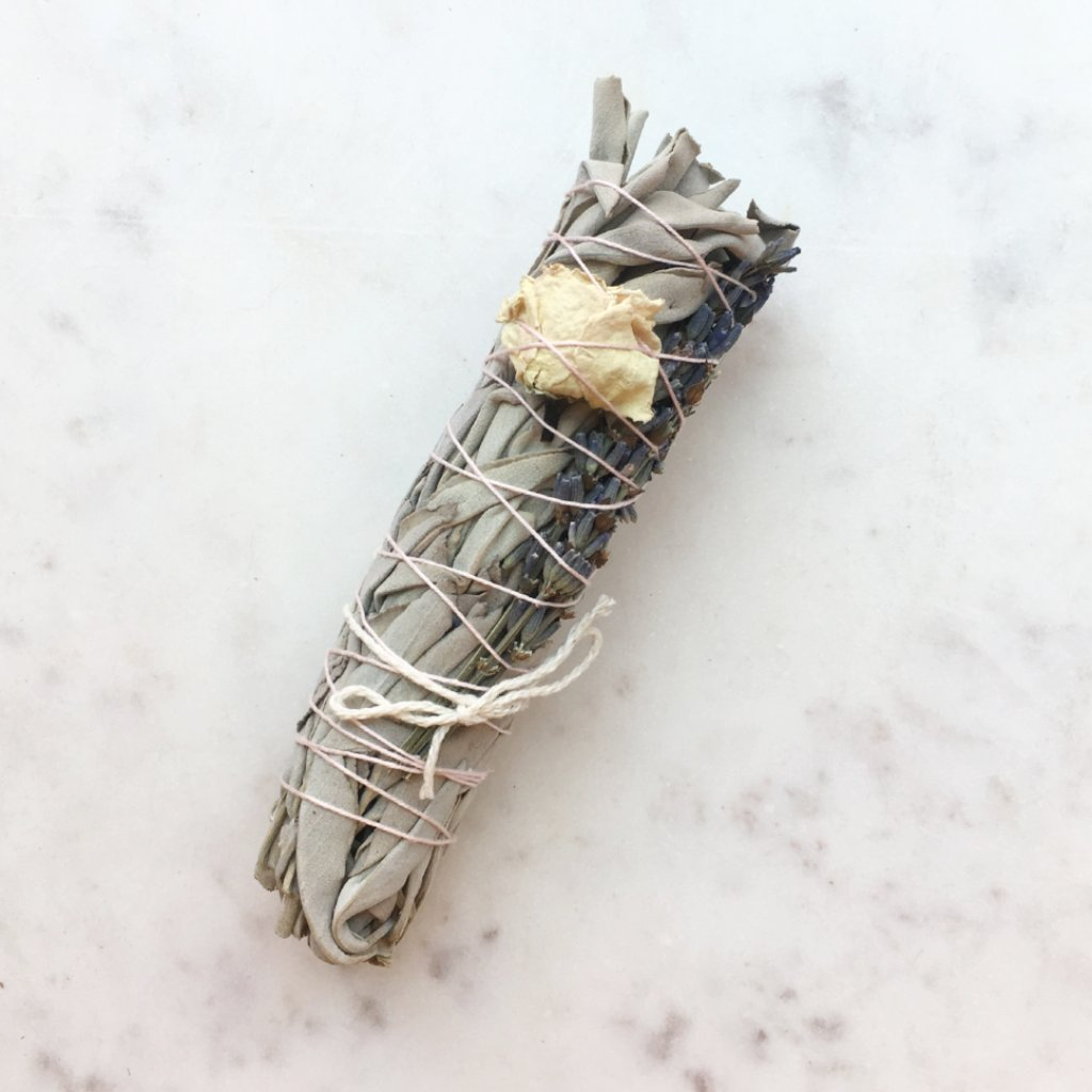 Catherine Rising Small Lavender Smudge Stick - KESTREL