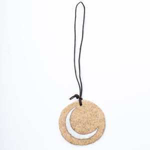 Crescent Disk Ornament Raw - KESTREL
