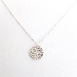 SS Sea Foam Necklace w/Diamond - KESTREL