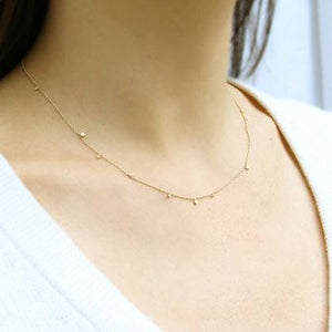 14k Random Itty Bitty Necklace - KESTREL