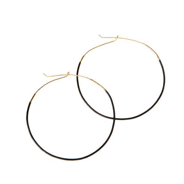 Large Ombre Hoops