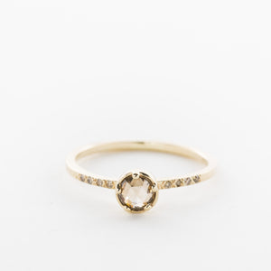 Rosecut Chocolate Diamond Ring - KESTREL