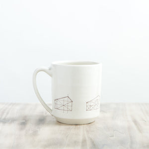 Mug - Saltbox Houses - KESTREL