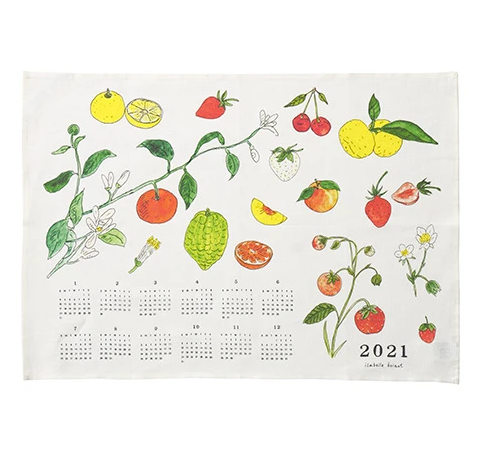 2021 Fabric Calendar - Fruit