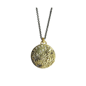 Sparkling Moon Necklace - KESTREL