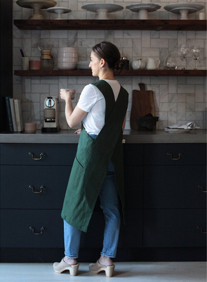 Canvas Work Apron - Fern Green - KESTREL