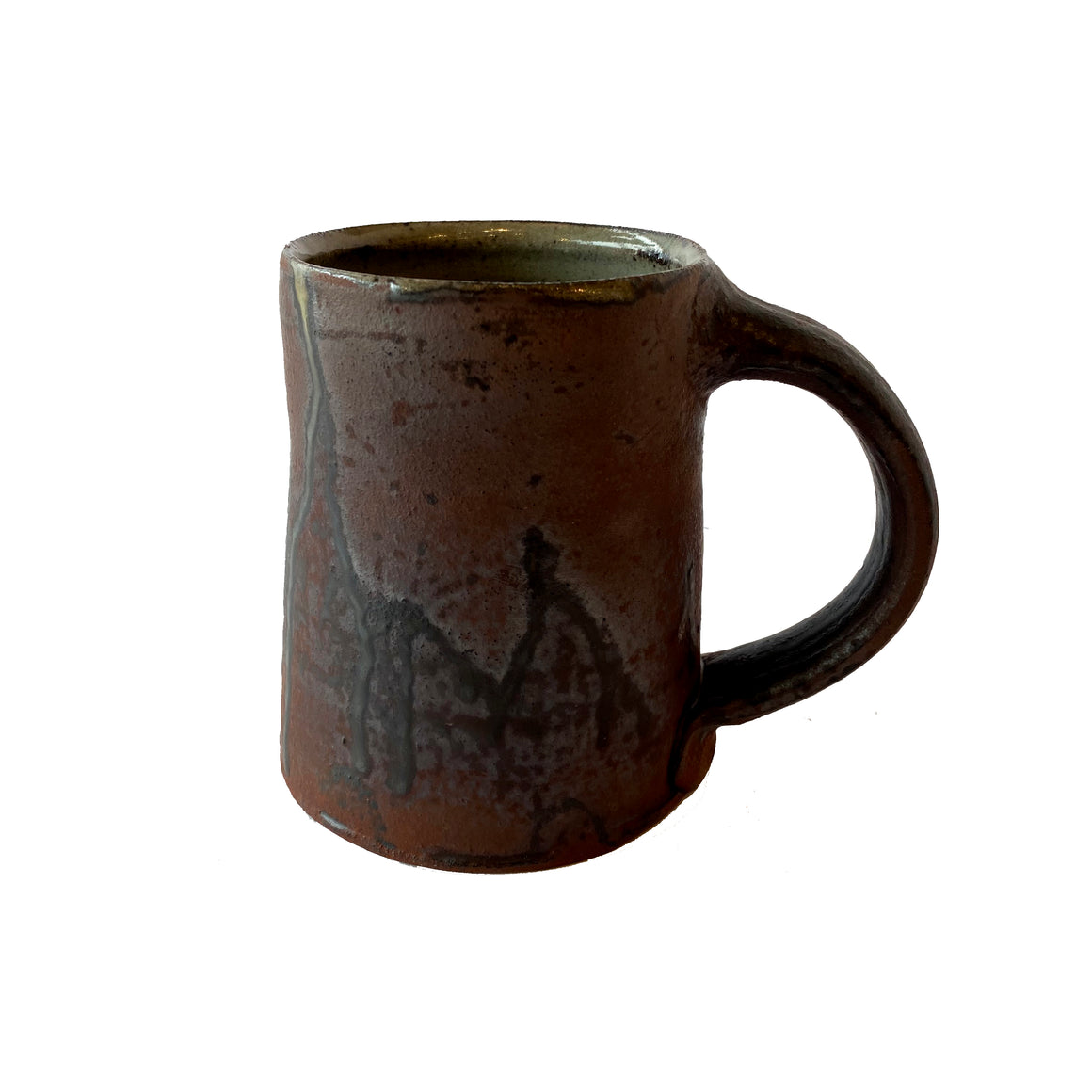 Wood-Fired Tall Mug - Iron