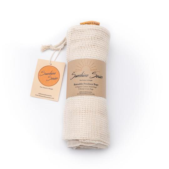 Reuseable Produce Bag Set - KESTREL