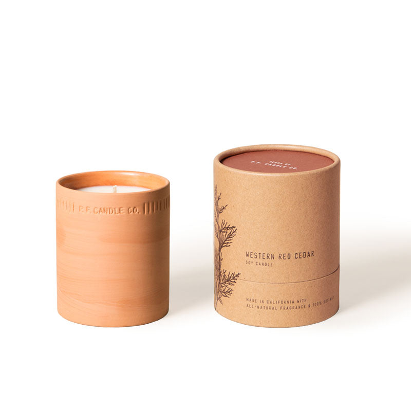Terra 8oz Western Red Cedar Soy Candle