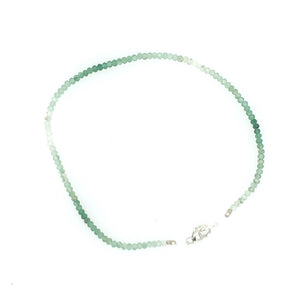 Ombre Green Adventurine Bracelet