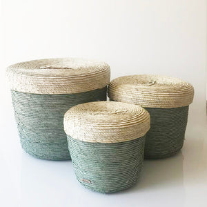 Set/3 Storage Baskets (Agave)
