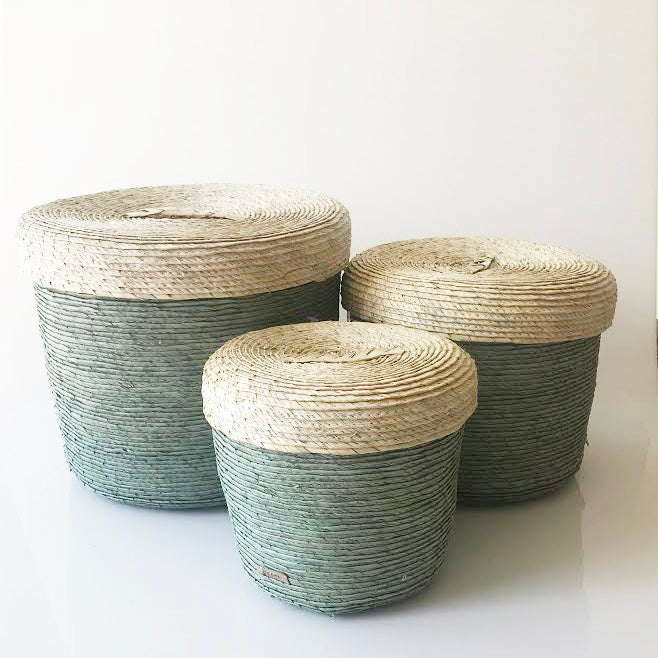 Set/3 Storage Baskets (Agave) - KESTREL