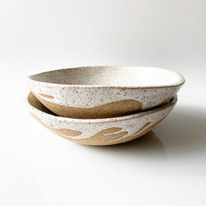 White Speckled Cambrian Bowl