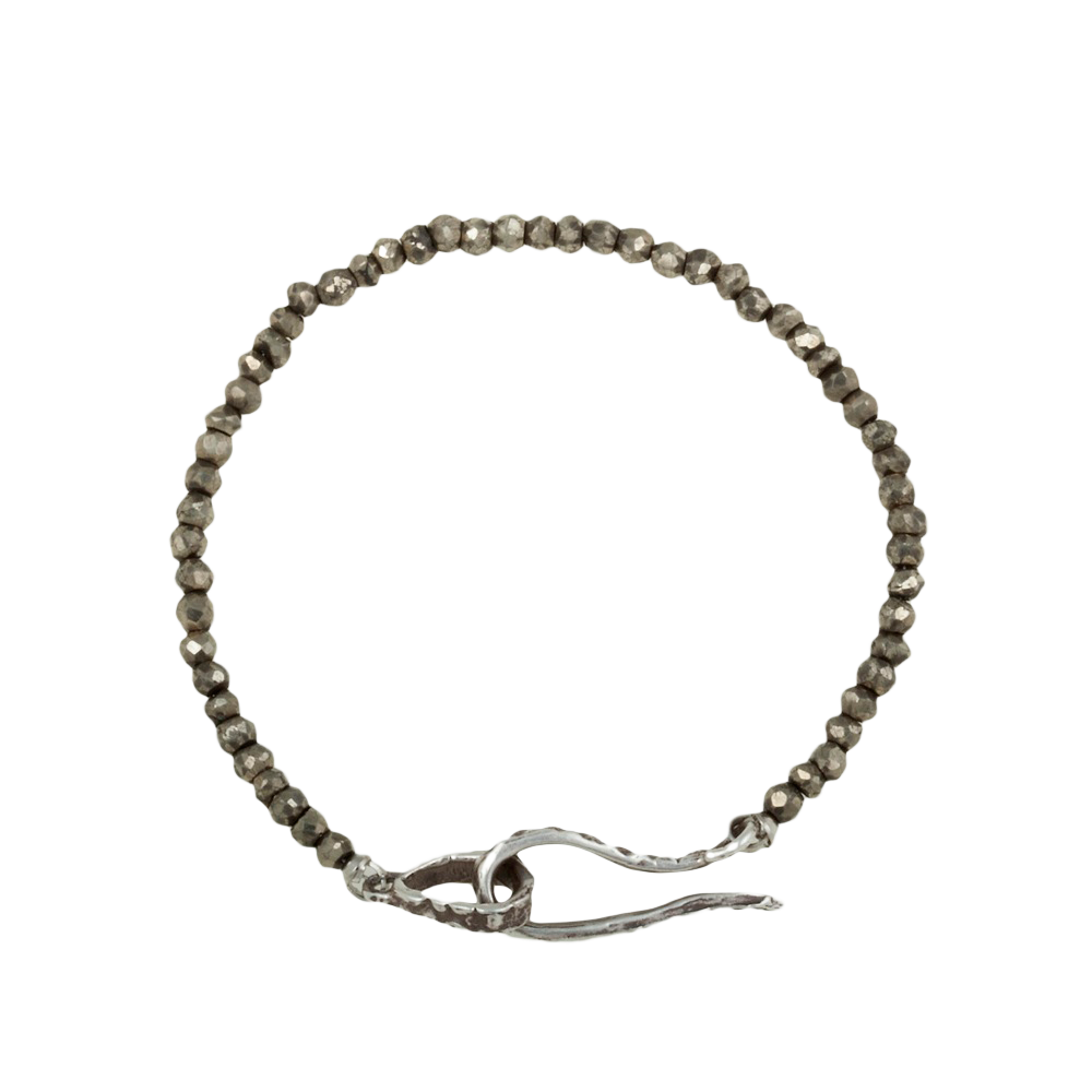Single Strand Pyrite Bracelet - KESTREL