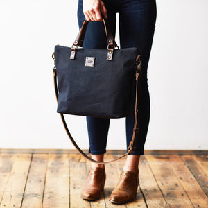 The Crossbody Day Bag - True Black