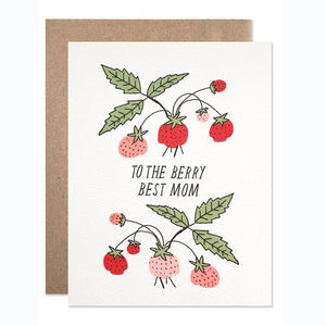 Berry Best Mom Card - KESTREL