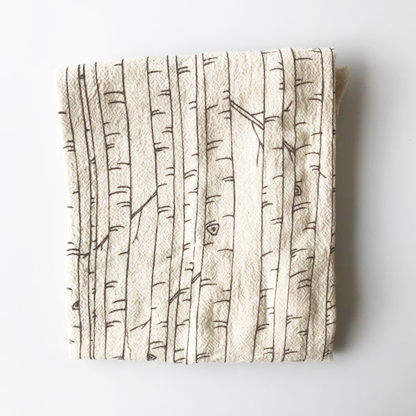 Birch Trees Tea Towel - KESTREL