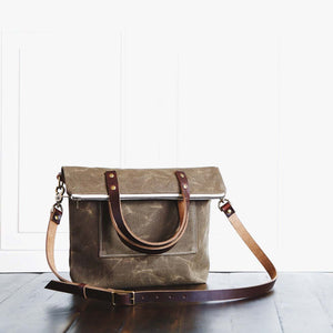 The Book Bag - Oak Brown