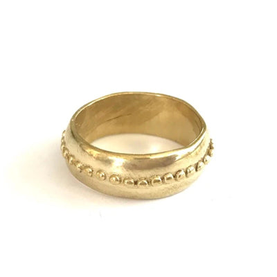 Brass Athena Ring