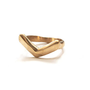 Brass Canyon Ring