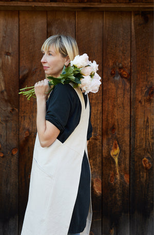 Canvas Work Apron - Natural - KESTREL
