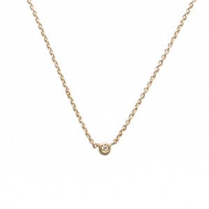 Itty Bitty Diamond Necklace - KESTREL