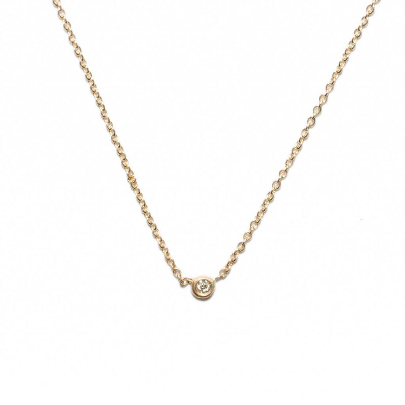 Itty Bitty Diamond Necklace