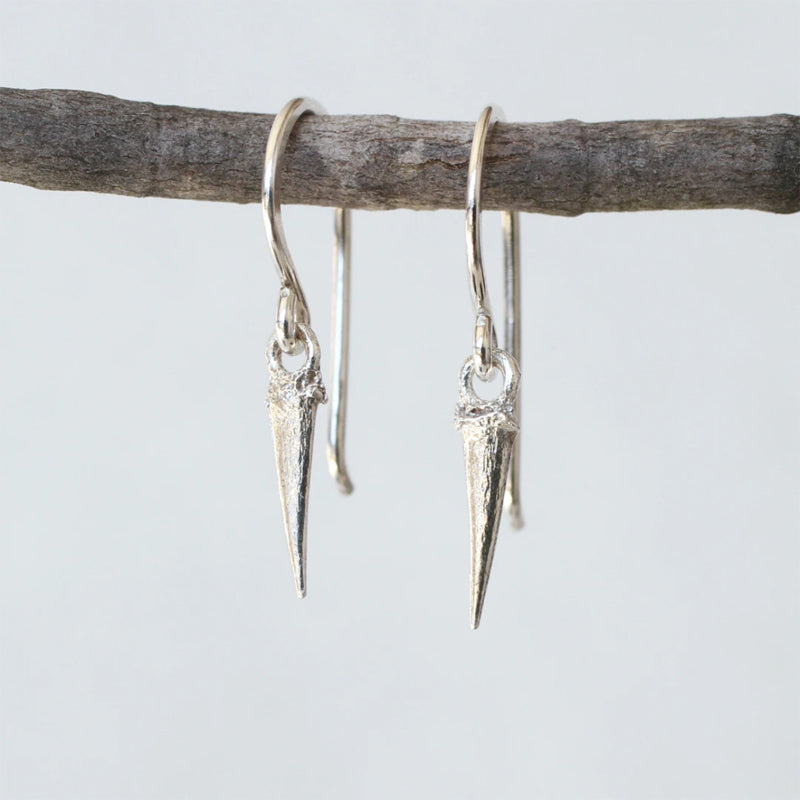 Catbrier Thorn Dangle Earrings