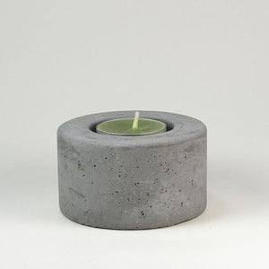 Concrete Tea Light Holder - KESTREL