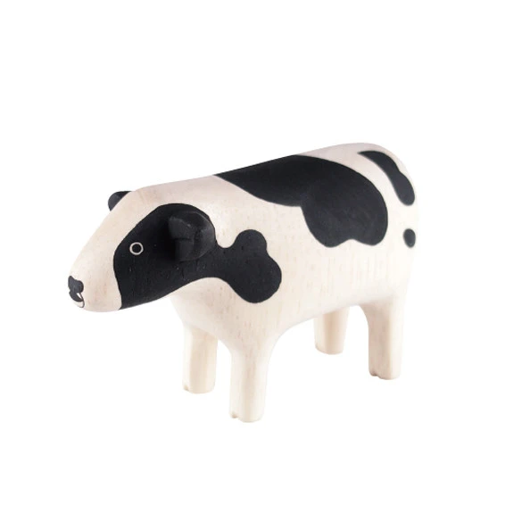 Tiny Wooden Cow