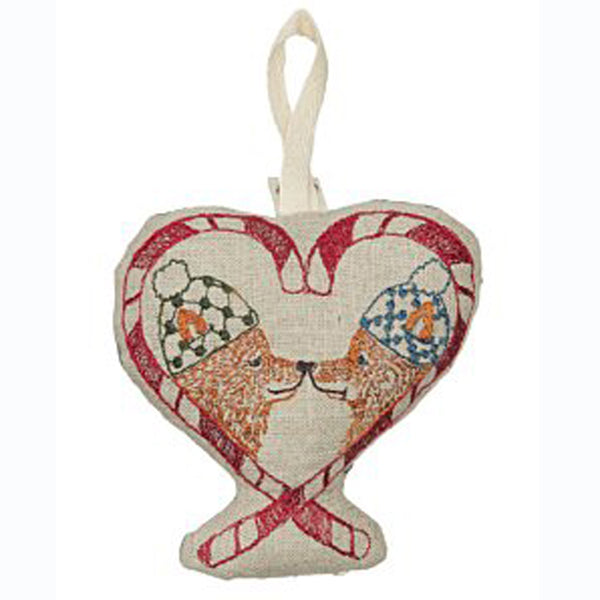 Cozy Foxes Ornament - KESTREL