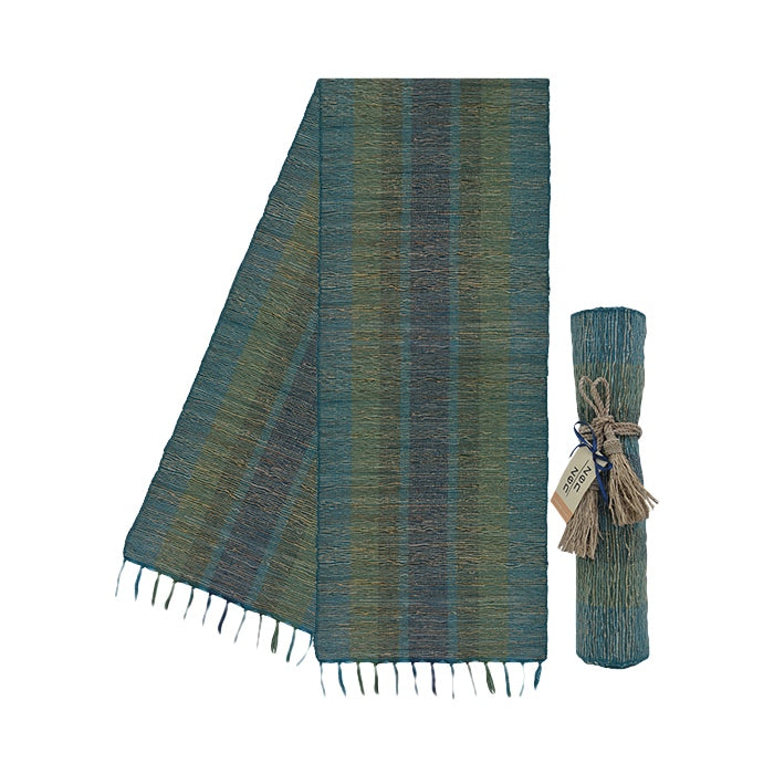 Vetiver Table Runner (Deep Forest) - KESTREL
