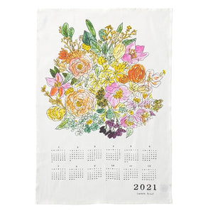 2021 Fabric Calendar - Bouquet