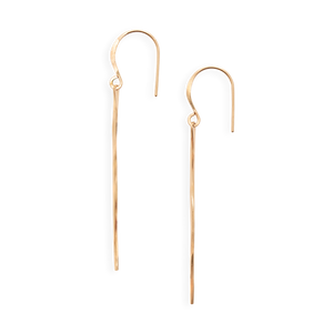 Large Gold Fill Ven Earring