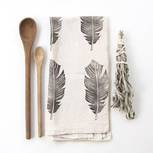 Feather Tea Towel