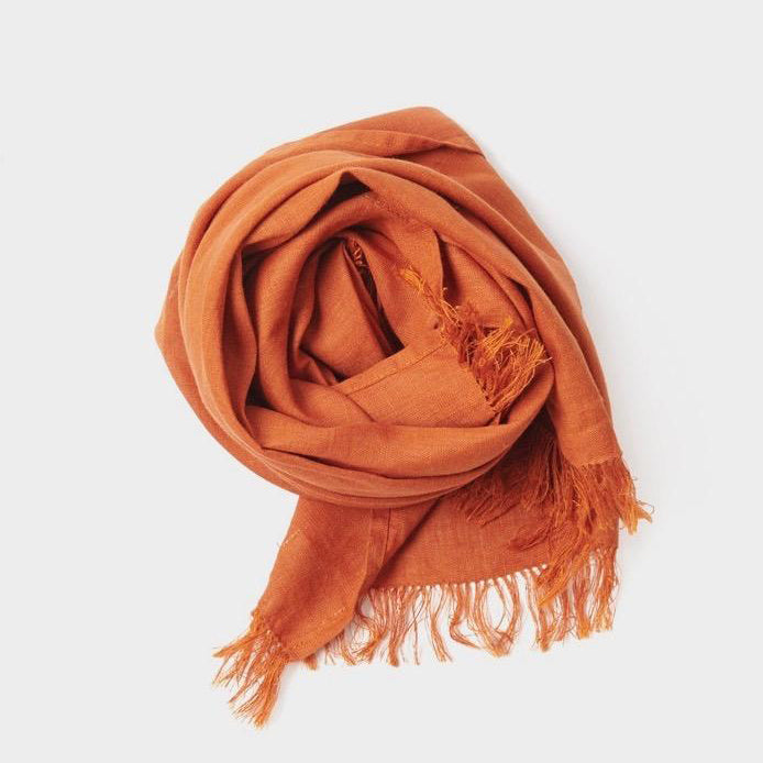Roserie Scarf Praline Orange - KESTREL