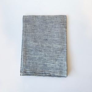 Linen Kitchen Towel- Skinny Stripe