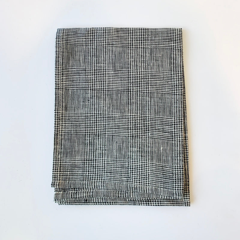 Linen Kitchen Towel- Glen Check