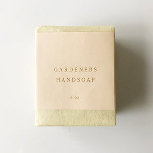 Gardeners Handsoap Bar - KESTREL