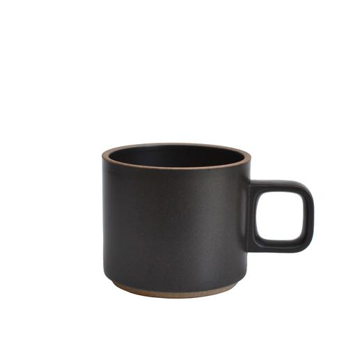 Short Porcelain Mug (Black)