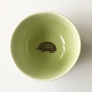 Tiny Hedgehog Bowl (Avocado) - KESTREL