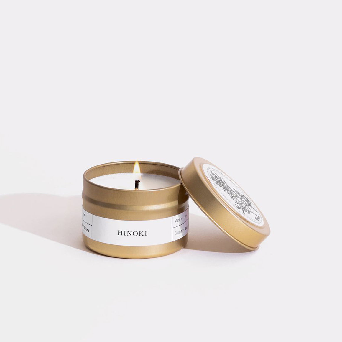 Hinoki Candle - Tin