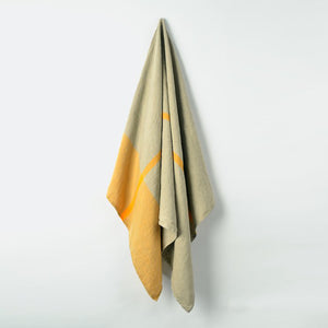 Linen Bath Towel - Yellow