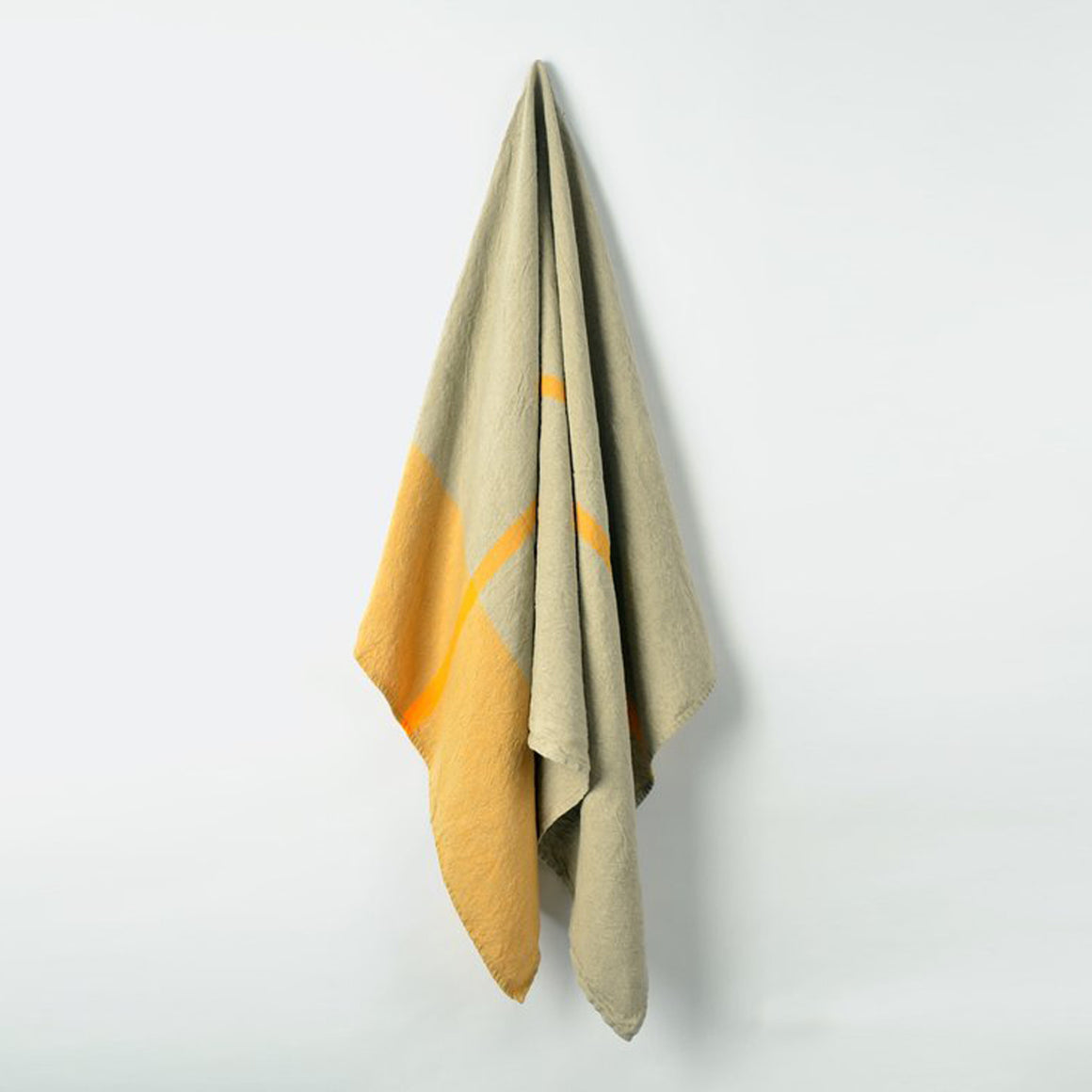Linen Bath Towel - Yellow - KESTREL