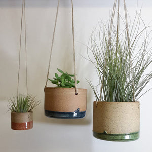 Tiny Hanging Horizon Airplant Pot - KESTREL