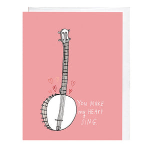 Heart Sing Card - KESTREL