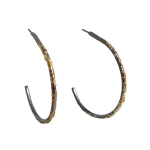 Gold Dust Hoops - KESTREL