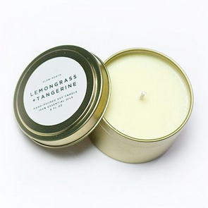 Lemongrass + Tangerine Candle Tin - KESTREL