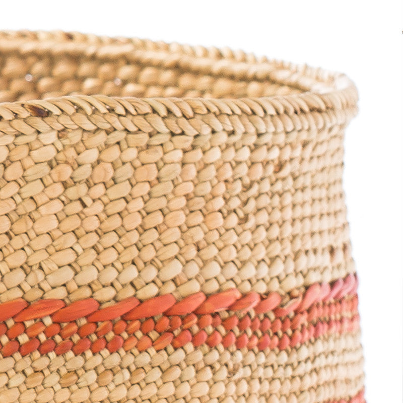Iringa Basket Large - Stripes